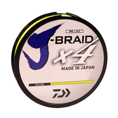 Daiwa J-Braid X4 Braided Line
