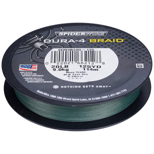 Spiderwire Dura-4 Braided Line