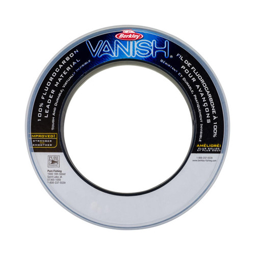 Berkley Vanish Clear Leader Spools