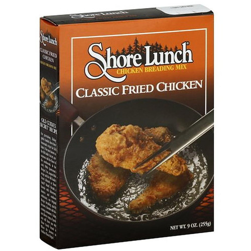 Shore Lunch Chicken Breading Mix Classic Fried Chicken