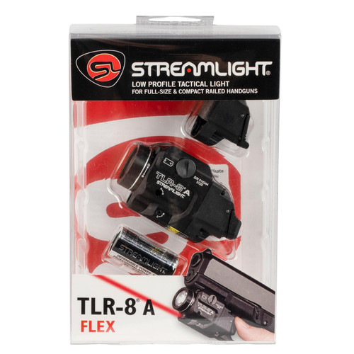 Streamlight TLR-8-A Flex Rail Mounted Light Black
