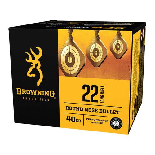 Browning B194122400 BPR 22 Long Rifle 40 Grain LRN 400 Rounds