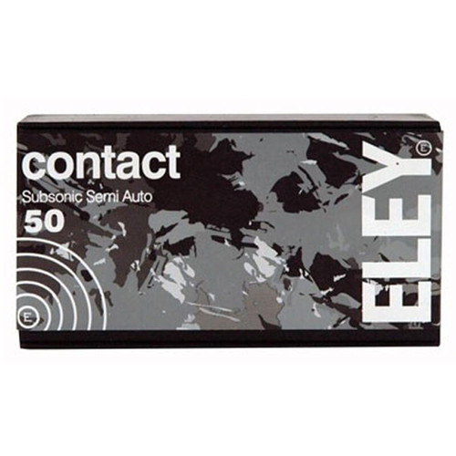 Eley 02300 Contact Sub-Sonic .22 LR 42 Grain RN 50 Rounds