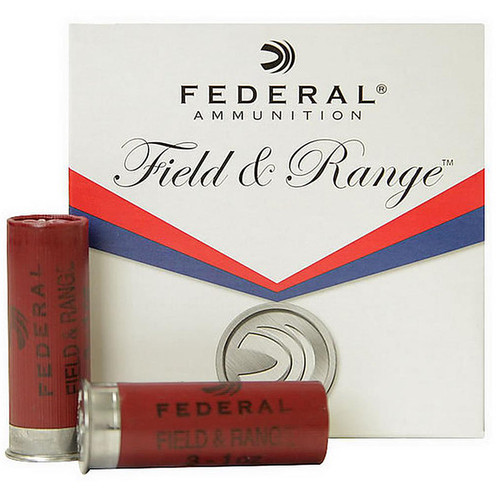 "Federal FRL20NBS8  Field & Range 20 Gauge Shotgun Shells 2.75""  8 Shot 25 Rounds"
