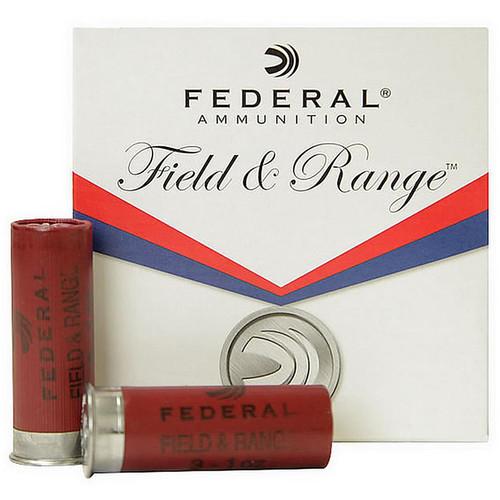 "Federal FRL12 8 Field & Range 12ga 2.75"" 1oz 8 Shot 25 Rounds"