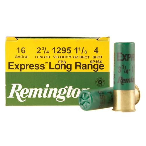 """Remington SP164 Express Extra Long Range 16 Gauge 2.75"""" 1-1/8 oz 4 Shot 25 Rounds"""