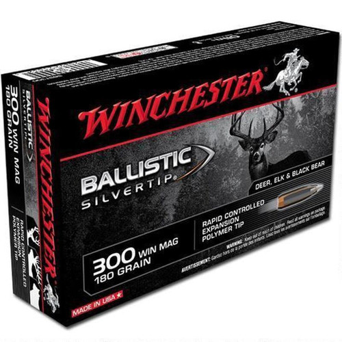 Winchester SBST300 .300 Winchester Magnum Poly Tip 180 GR 20 Rounds