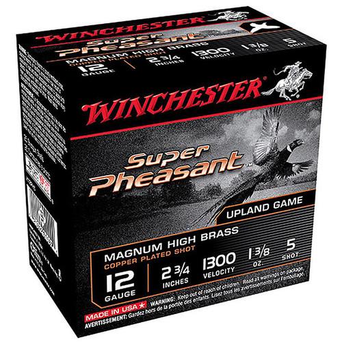 "Winchester X12PH5 Super Pheasant 12 Gauge 2.75"" 1-3/8 oz. 5 Shot 25 Rounds"