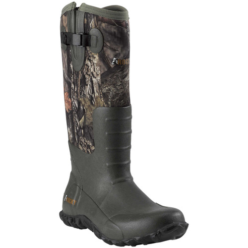 "Rocky Mens 16"" Core Waterproof Rubber Knee Boots"