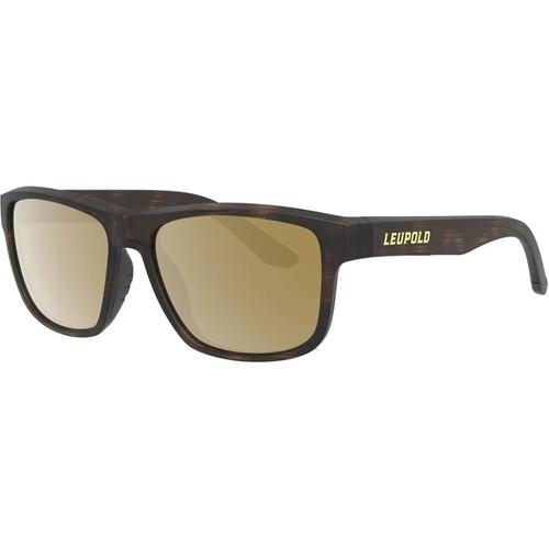 Leupold Katmai Polarized Sunglasses Matte Tortoise Frame/Bronze Mirror Lens