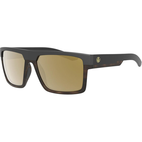 Leupold Polarized Sunglasses Black/Tortoise Frame and Bronze Mirror Lens