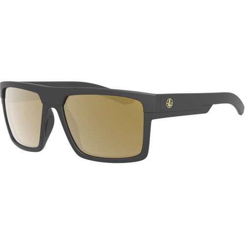 Leupold Becnara Polarized Sunglasses Matte Black Frame/Bronze Mirror Lens