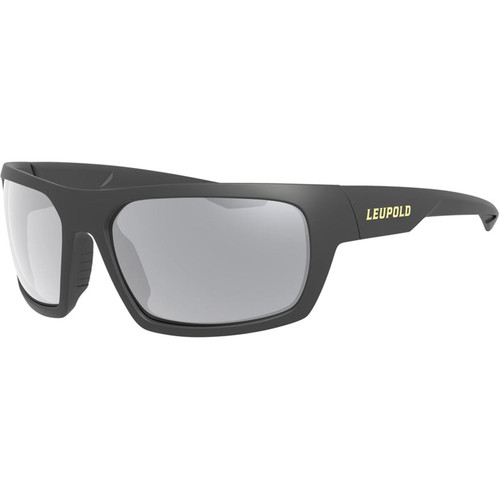 Leupold Packout Polarized Sunglasses Black Frame/Shadow Gray Flash Lens