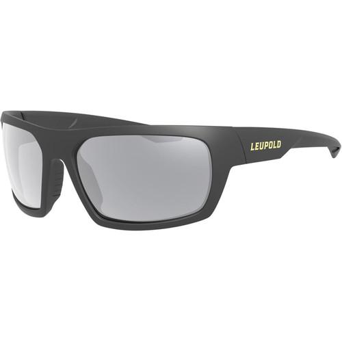 Leupold Packout Polarized Sunglasses Black Frame/Shadow Gray Flash Lens