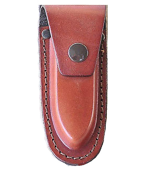 "AA&E 8600906-210 Leathercraft Full Grain Cowhide Leather Knifesheath 5.5"" Brown"