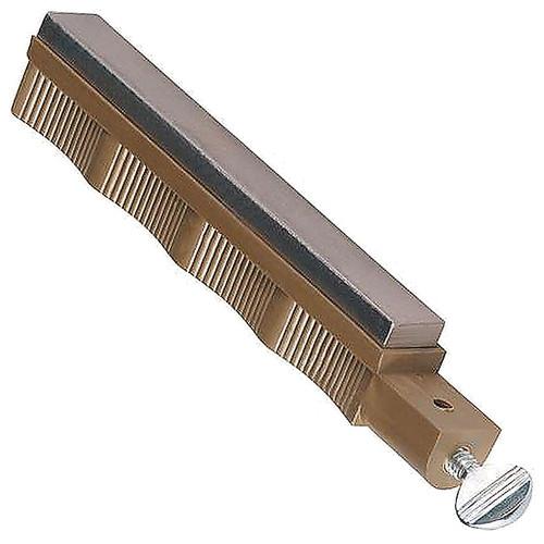 Lansky Fine Diamond Sharpening Hone Slip Resistant Finger Grooves LDHFN