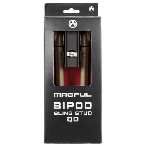 Magpul Sling Stud QD Bipod, Flat Dark Earth, MAG1075-FDE