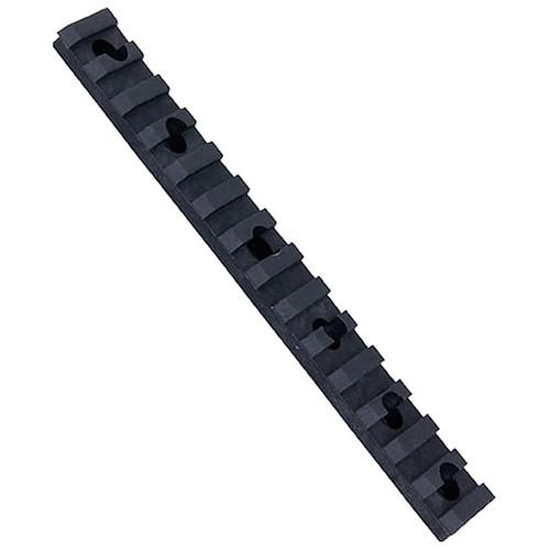 "Ergo Xtreme Service Picatinny Rail with Mounting Hardware Universal 6"" Black"