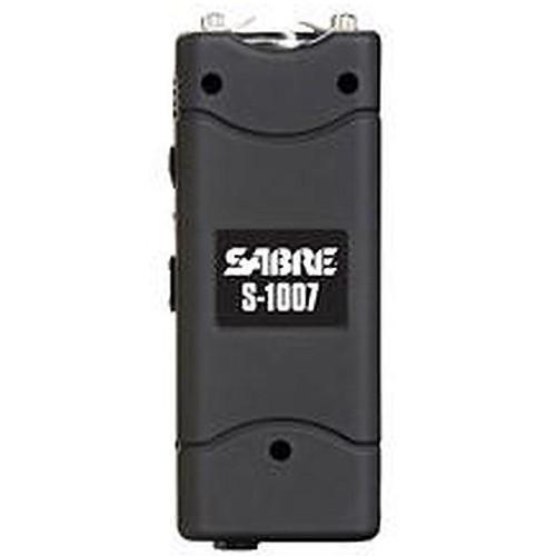 Sabre 3.8 Million Volt Stun Gun/Flashlight Portable 2.35 lbs Black S1007BK