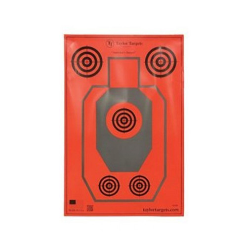Taylor Targets Paper Targets Small 11x14 10 Pack