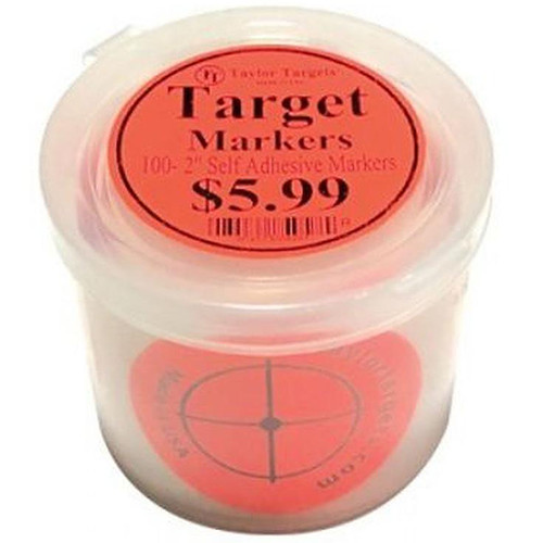 Taylor Targets Red Target Markers
