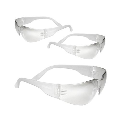 Radians 3-pack Explorer Shooting Glasses Clear EX3110CS
