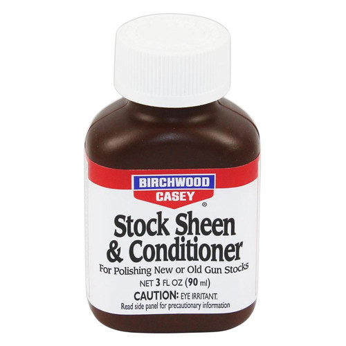 Birchwood Casey 23623 STOCK Sheen/Conditioner Stock Sheen/Conditioner 3 oz