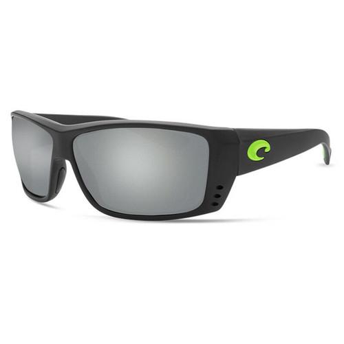 Costa Del Mar Men Sunglasses Black/Gray Silver Mirror Polarized 580G