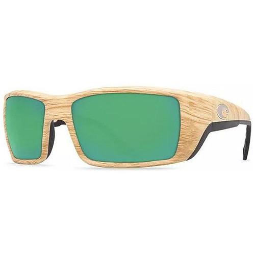 Costa Permit 580P Ashwood Green Mirror Polarized Sunglasses