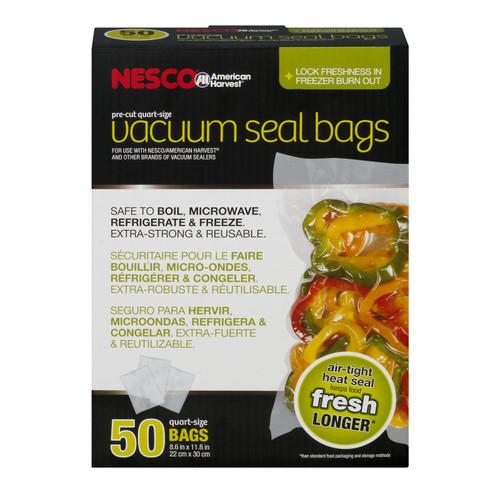 Nesco Quart Vacuum Sealer Bags
