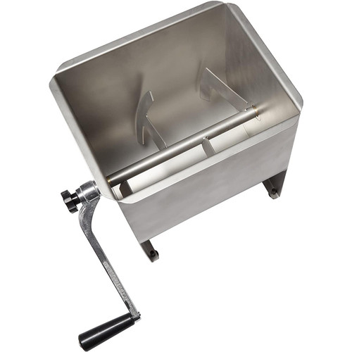 Weston Stainless Steel Meat Mixer, 22-Pound