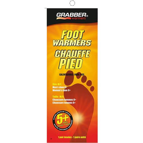 Grabber Foot Warmers Med/Lg - 3 Pairs