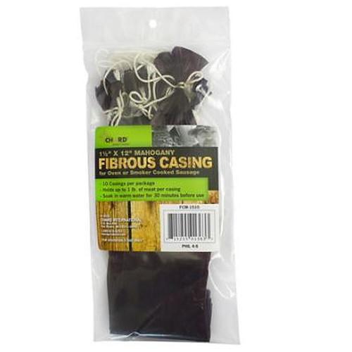 Chard Mahogany Fibrous Casings 1 Lb.