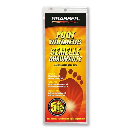 Grabber Foot Warmers Sm/Med - 1 Pair
