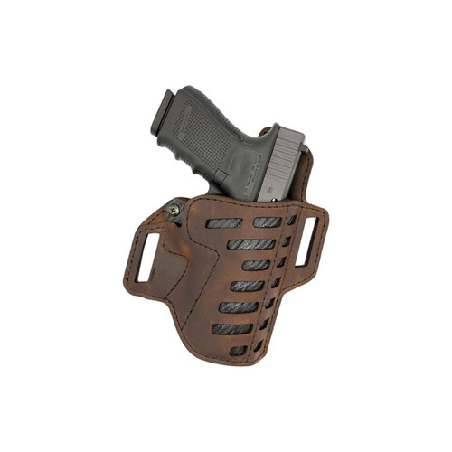 VC Compound Holster Owb Kydex Leather Rh Sub Compact Size 3 BR