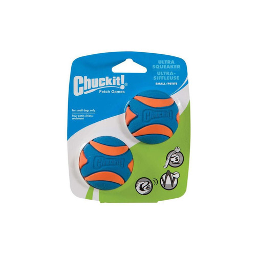 Chuckit! Ultra Squeaker Small 2 Pack