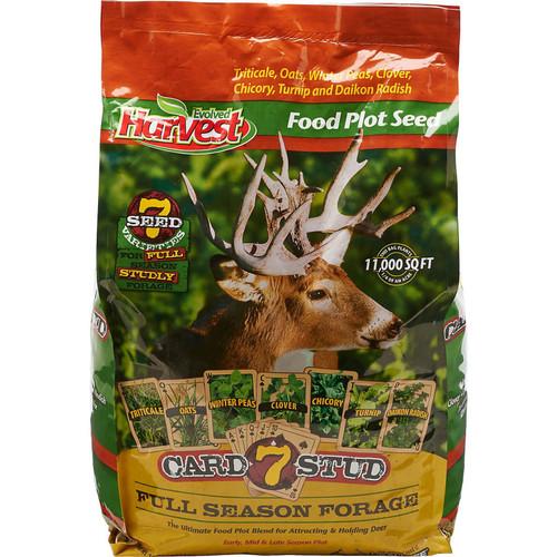 Evolved Harvest 7 Card Stud Food Plot Blend, 1/4 Acre