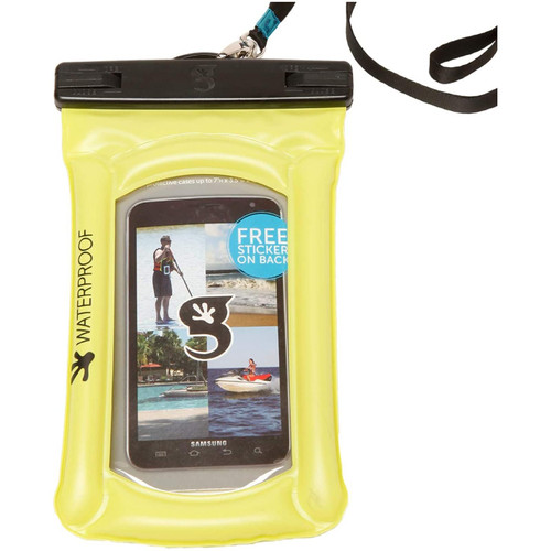 Geckobrands Waterproof Float Phone Bag- Green
