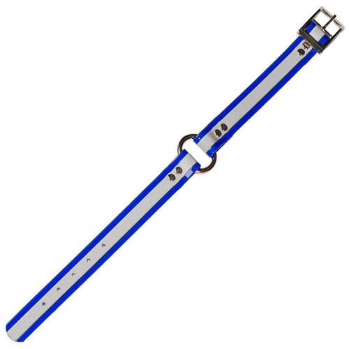 DANS DC1ROBU-19 DAYGLO COLLAR W/O-RING BLUE