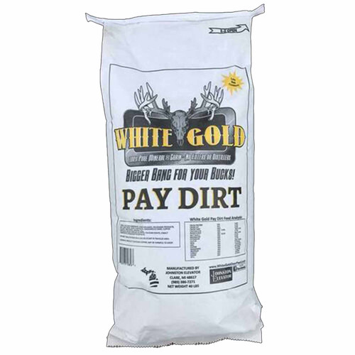 White Gold Pay Dirt Mineral 40 lbs