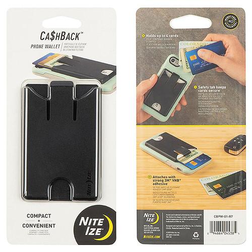 NITE IZE Cashback Phone Wallet Black
