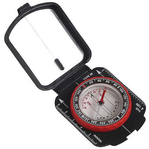 Stansport Multi Function Compass W/Mirrored Cover