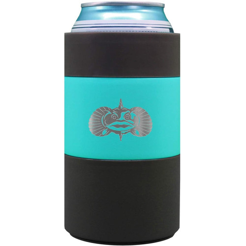 Toadfish Outfitters Non-Tipping Suction Cup Can Cooler Teal