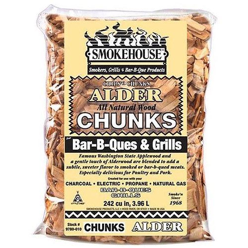 Smokehouse 9780-010-0000 Wood Chunks 1.75 Lb Bag Alder