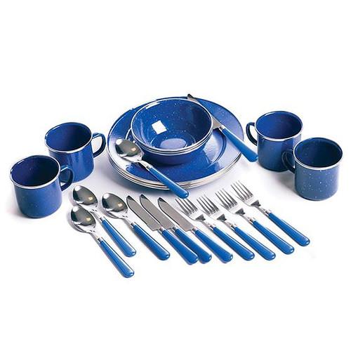 Stansport Enamel Tabelware Set