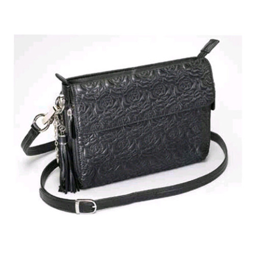 Gun Tote'n Mamas Embroidered Lambskin Concealed-Carry Clutch