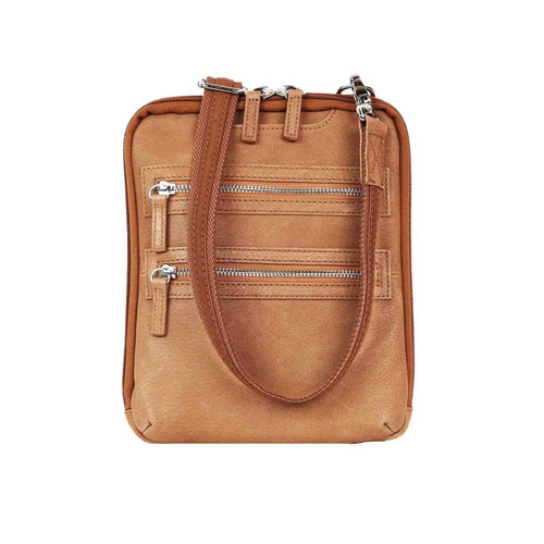 Concealed Carry Essential Crossbody Bag by Gun Tote'n Mamas