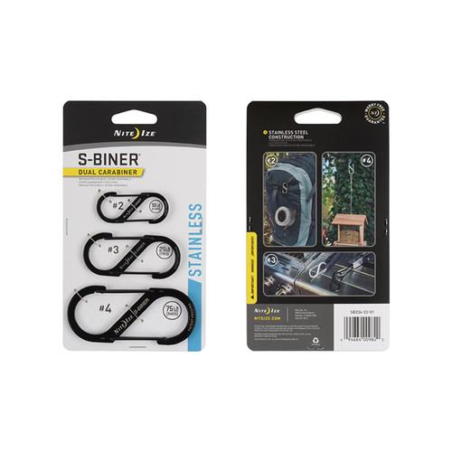 NITE IZE S-Biner Dual Carabiner 3 Pack