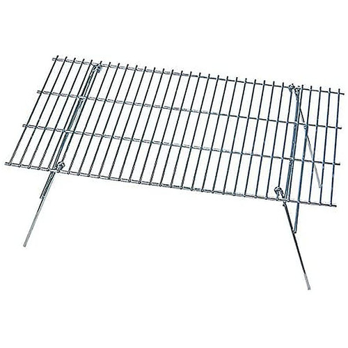 Rome's 124 Pioneer Grill, Chrome Plated Steel, 12.5-Inch x 24-Inch