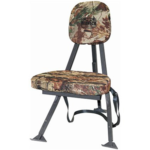Redneck Blinds Deluxe Swivel Portable Hunting Chair Camo